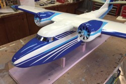 Grumman Albatross model airplane plan