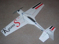 Katana S 3D  model airplane plan