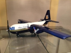 Beverage Bottle Challenge: Fat Albert C-130 model airplane plan