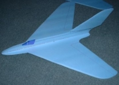 Messerschmitt P 1111 model airplane plan