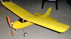 Oshkosh Special 40 model airplane plan