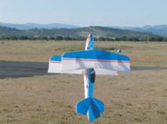 3DB Pitts S-2C model airplane plan