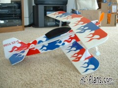 3DF Pitts S2C 3D model airplane plan