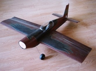 Raven model airplane plan