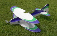 3DF Tiburon 3D Bipe model airplane plan