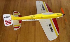 3DF Tiburon 3D model airplane plan