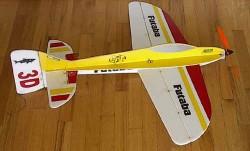 3DF Tiburon 3D model airplane plan