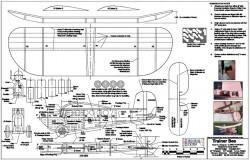 Trainer Bee model airplane plan