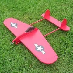 Tunder Lightning V 2 model airplane plan