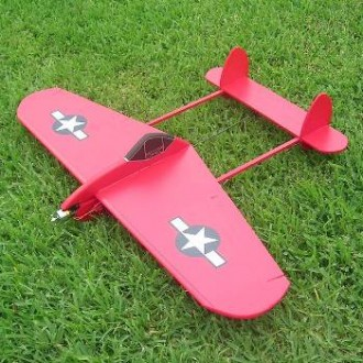 Tunder Lightning V 2 model airplane plan