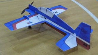 Yak-54 model airplane plan