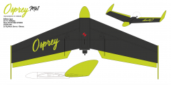 Osprey Wing Mk1 model airplane plan