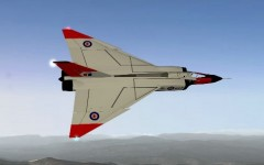 Avro Arrow model airplane plan