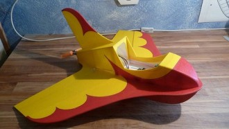 Judi Jetstream model airplane plan