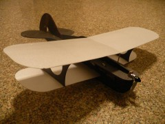 BYOB model airplane plan