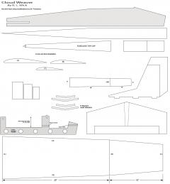 Cloud Weaver-2 model airplane plan