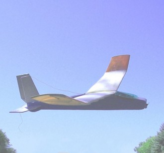 CLOUD WEAVER model airplane plan