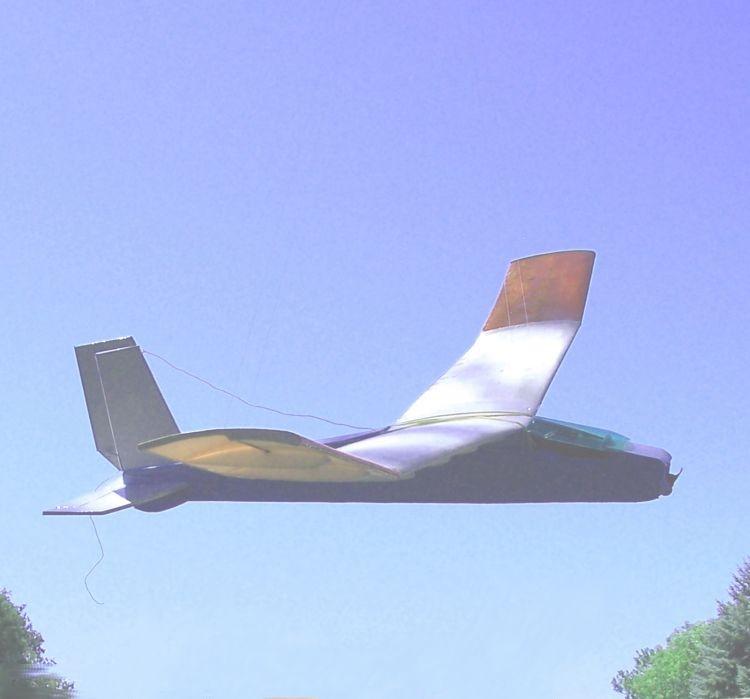 CLOUD WEAVER model airplane plan
