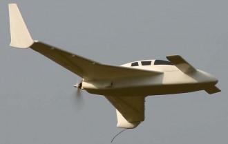 Cozy model airplane plan