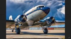 Douglas DC-3 model airplane plan