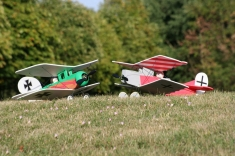 Eddie and Otto  the biplanes model airplane plan