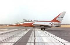 F-107A Super Sabre model airplane plan