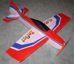 INFLAT model airplane plan