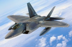 F 22 RAPTOR model airplane plan