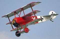 Fokker DR 1 model airplane plan