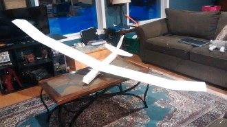 Teraglider model airplane plan