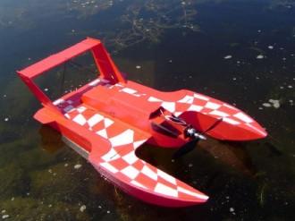 Hangar One model airplane plan