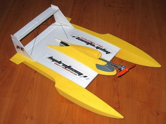 Hydrofoam model airplane plan