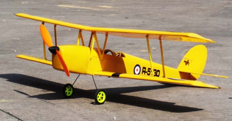 D.H 82 Tiger Moth Mini model airplane plan