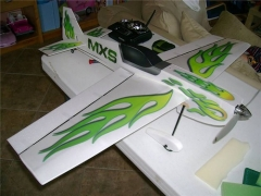 MXS model airplane plan