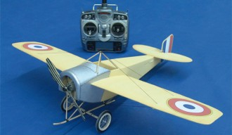 Nieuport-Monoplane model airplane plan