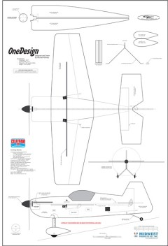 One Design model airplane plan