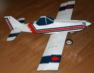 Piper PA-36 model airplane plan
