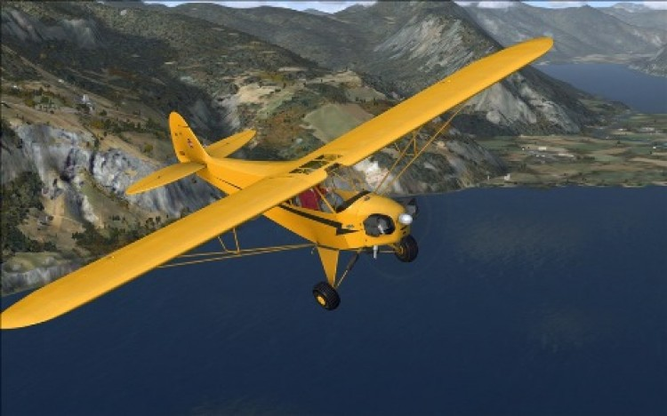 Piper Cub J-3 model airplane plan