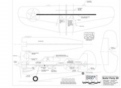 Sorta Forty 3D model airplane plan