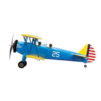 Boeing PT-17 Stearman model airplane plan