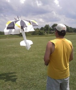 Monster tensor model airplane plan