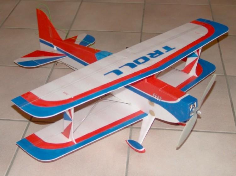 Troll 3d model airplane plan