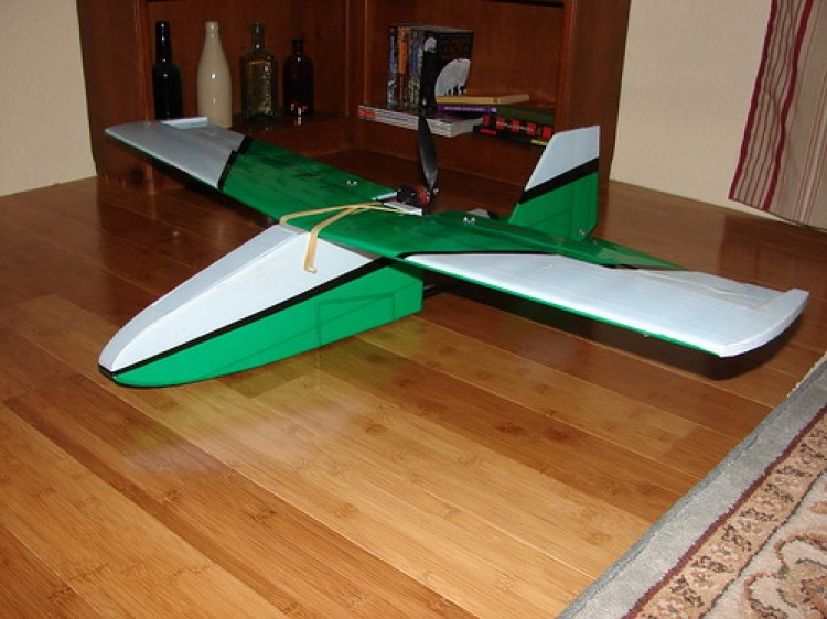 The Tuffy model airplane plan