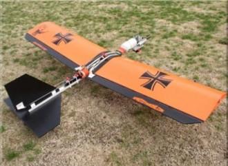 Buhor 25 Profile model airplane plan
