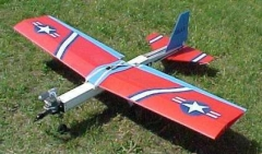 Debonair model airplane plan