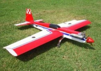 Extra model airplane plan