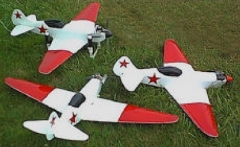 Mig 7 model airplane plan