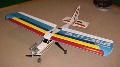 Spadet LC-40 model airplane plan