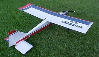Ultra Spad Stick model airplane plan