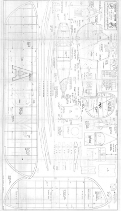 Carden Baynes model airplane plan